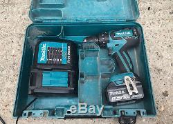 Makita DHP459 18V LXT Cordless Combi Drill Brushless 2017 & 3ah Battery