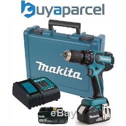 Makita DHP459SFE 18V LXT Lithium Ion Brushless Combi Hammer Drill + 2 Batteries