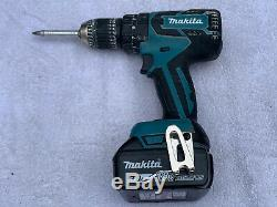 Makita DHP459SFE 18V LXT Lithium Ion Brushless Combi Hammer Drill + 2 Batteries