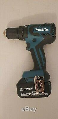 Makita DHP459Z 18v LXT 13mm Brushless 2-Speed Combi Drill & 3ah Battery