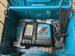 Makita DHP481 Combi Drill + DTD146 Impact Driver 18V LXT Cordless Set + Charger