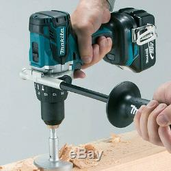 Makita DHP481Z 18V LXT Brushless Combi Hammer Drill With 1 x 5Ah BL1850 Battery