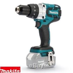 Makita DHP481Z 18v Combi Drill Body With 1 x 4Ah Battery, Charger, Case & Inlay