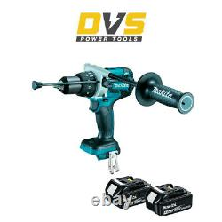 Makita DHP481Z 18v LXT Brushless Combi Drill with 2 x 4.0Ah Batteries BL1840