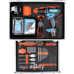 Makita DHP482 18V LXT Combi Drill + 1 x 3Ah Battery & Charger With 70pc Acc. Set