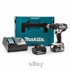 Makita DHP482RFWJ 18v Combi Drill 18v Cordless Drill 2 x 3.0Ah Batteries