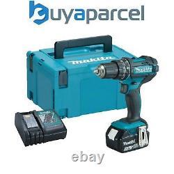 Makita DHP482RM 18v LXT Combi Hammer Drill 1 x 4.0ah Battery + Charger