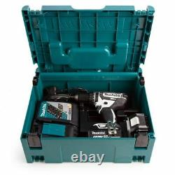 Makita DHP482RTWJ 18V LXT Combi Drill with 2X 5.0ah Battery Kit Free Delivery