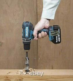 Makita DHP482Y1WJ 18v LXT Combi Hammer Drill White 1 x Battery + Charger