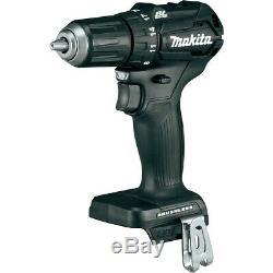 Makita DHP483RFB 18v Black Brushless Compact Combi Hammer Drill 1 x 3.0ah