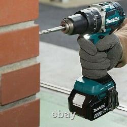 Makita DHP484RTJ 18V LXT Brushless Combi Hammer Drill 2 x 5.0ah Batteries