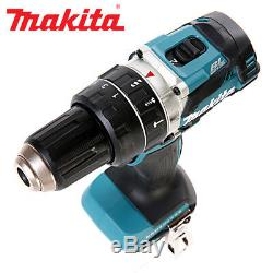 Makita DHP484Z 18v Brushless Combi Drill + 1 x 4Ah Battery, Charger & Cube Bag