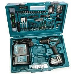 Makita DHP485RTJ 18v Brushless Combi Hammer Drill + 101P Screwdriver Bit Set 5Ah