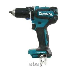 Makita DHP485Z 18V LXT Lithium Brushless Combi Hammer Drill Bare + Makpac Case