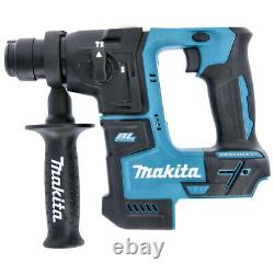 Makita DHR171 18V Brushless SDS+ Drill with 5pc Chisel Set & Keyless Chuck