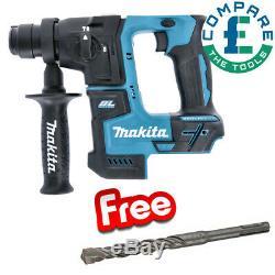 Makita DHR171 18V SDS + Rotary Hammer Drill With 1618596185 SDS+ Drill Bit