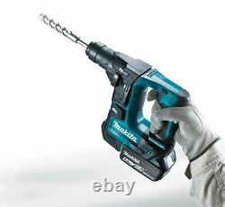 Makita DHR171RMJ 18V Cordless Brushless SDS Plus Rotary Hammer Drill 2 x 4.0ah