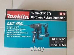 Makita DHR171Z 18V Li-ion Cordless Brushless SDS + Rotary Hammer Drill Body Only