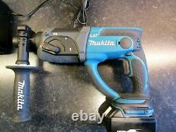 Makita DHR202 lxt 18v sds+ hammer drill breaker, charger and two 5ah batteries
