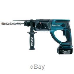 Makita DHR202RFE 18v Sds Hammer Drill Cordless 2 x 3.0Ah Batteries Charger Case