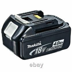 Makita DHR202Z 18V LXT Cordless SDS Hammer Drill with 1 x 4.0Ah BL1840 Battery