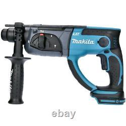 Makita DHR202Z 18V Li-ion SDS+ Rotary Hammer Body + Mak Case Type 3 + Inlays