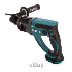 Makita DHR202Z 18V SDS Plus Hammer Drill With 2608578765 11Pc Acc. Set & Chuck