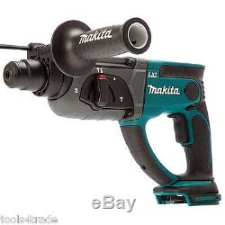Makita DHR202Z 18V SDS+ Rotary Hammer Drill With 2 x 3.0Ah Batteries & Charger