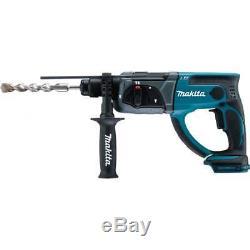 Makita DHR202Z 18v Sds Drill Cordless Rotary Hammer Drill Body Only