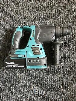 Makita DHR242 18V Brushless Cordless SDS Rotary Hammer Drill+ 5ah Battery X1