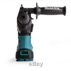 Makita DHR242RTJV 18v LXT Brushless Rotary Hammer Drill + Dust Extractor 5.0ah