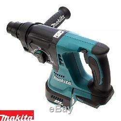 Makita DHR242Z 18v Brushless SDS+ Rotary Hammer Drill With 1 x 5.0Ah Battery