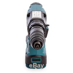 Makita DHR243Z 18V Brushless SDS+ Rotary Hammer Drill With 2 x 5.0Ah Batteries