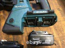 Makita DHR263 18v/36v Lithium-ion SDS Hammer Drill With 2x 4.0ah Batteries