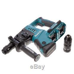 Makita DHR264ZJ 18V Twin SDS+ Hammer Drill With 2 x 5.0Ah Batteries & Makcase 4