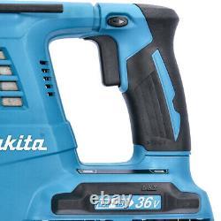 Makita DHR264ZJ 18V Twin SDS+ Hammer Drill With 2 x 5Ah Batteries & Case
