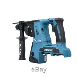 Makita DHR264ZJ Twin 18v Li-ion SDS+ Rotary Hammer Drill In MakPac Type 4 Case