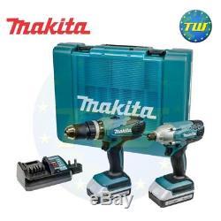 Makita DK18015X1 18V Combi Drill & Driver Twinpack 2x 1.3Ah G Series Batteries