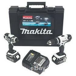 Makita DLX2020SW 18V 3.0Ah Li-Ion LXT Cordless Combi Drill & Impact Driver Twin