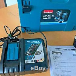 Makita DLX2145TJ 18V 2x5.0Ah Li-ion Combi Hammer Drill & Impact Driver Kit LXT