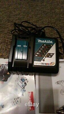 Makita DLX2145TJ Cordless 18V Combi Drill & Impact Driver Kit, Used couple time