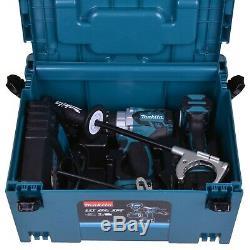 Makita DLX2176TJ 18 V Li-ion LXT Brushless Impact Driver/Combi Drill Twin Kit