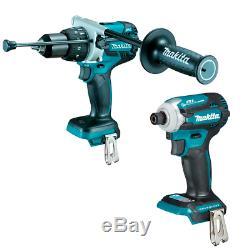 Makita DTD171Z 18V Brushless Impact Driver & DHP481Z LXT Brushless Combi Drill