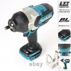 Makita DTW1002Z 18V Brushless Impact Wrench Blue