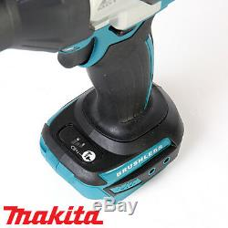 Makita DTW1002Z 18v Brushless 1/2In Impact Wrench With Free Tape Measures 5M