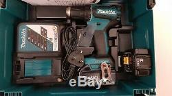 Makita Ddf485rmj 18v Lxt Brushless 2-speed Drill Driver 2x4ah Bl1840b Case