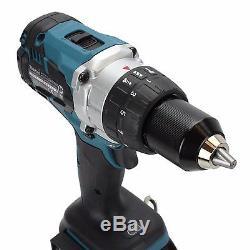 Makita Dhp481z 18v Li-ion Lxt Brushless Hammer Drill & Bl1850b 5.0ah Battery