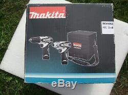 Makita Dk1493wx 10.8v Li-ion Combi Drill Driver Set 2 Batteries & Charger