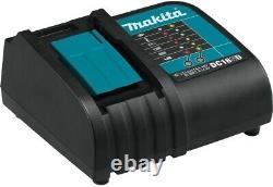 Makita Drill Driver Combo Kit 18-Volt Lithium-Ion Brushless Cordless Charger Bag