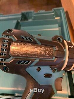 Makita Drill Impact Driver 18v Combo Kit Lithium Ion Battery Brushless